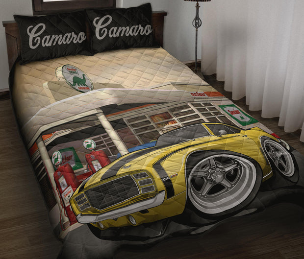 1st Generation Camaro Gas Station Quilt Set
