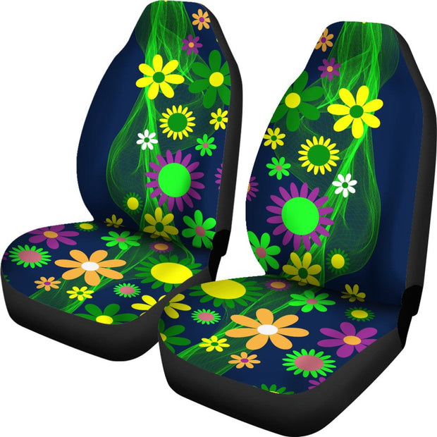 Flower Power Car Seat Covers
