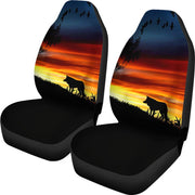 Lone Wolf Design Seat Covers