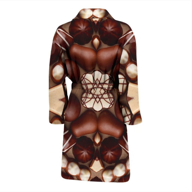 Chocolate Lovers Mens Bath Robe