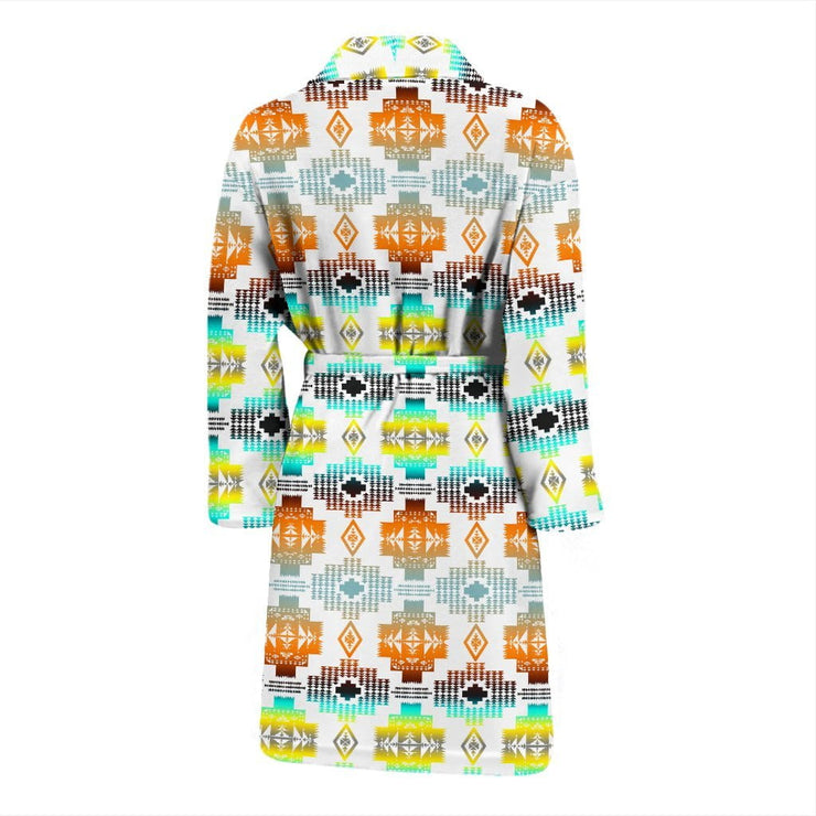 Canyon Frost Men's Bath Robe