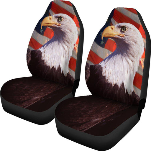 Eagle American Flag Seat Covers