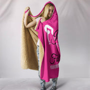 Gymnastics Hooded Blanket Pink