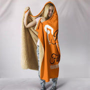 Gymnastics Hooded Blanket Orange