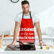 Backyard Legend Mens Apron