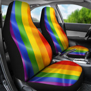 Autism Support Color Design Seat Covers