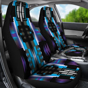 Midnight Sage Set of 2 Car Seat Covers