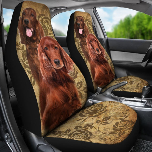 Irish Setter Car Seat Covers (Set of 2)