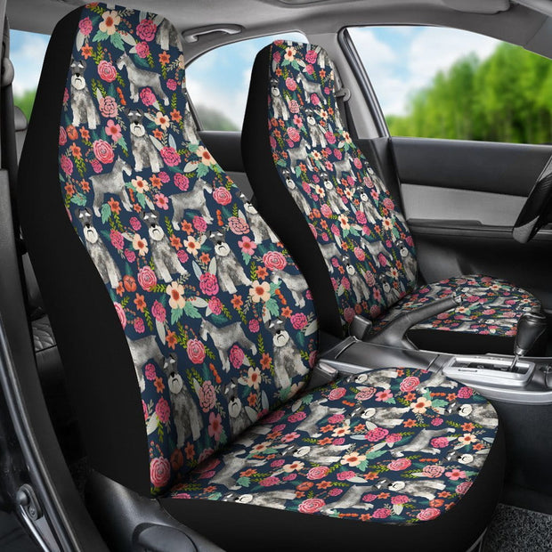 Schnauzer Car Seat Covers (Set of 2)