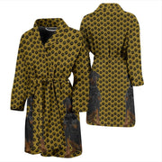 Dog and Paws Men's robe