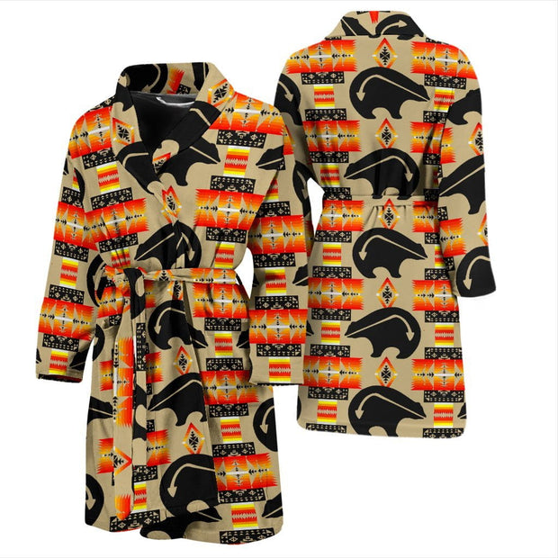 Bear Tan Men's Bath Robe