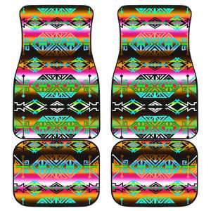 Trade Route North Set of 4 Car Mats Floor Mat