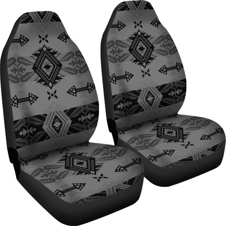 Sovereign Nation Gray Set of 2 Car Seat Covers