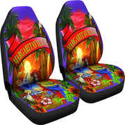 Margaritaville Parrot Purple Seat Covers