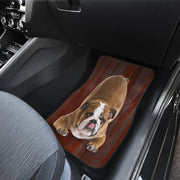 Old English Bulldog Auto Floor Mat