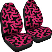 Cow Print Pink Pattern Seat Covers