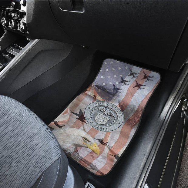 Air Force Design Front Set Floor Mats set of 2