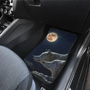 Wolves Floor Mats Full Set of 4