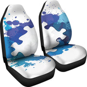 Autism Support Puzzle Seat Covers