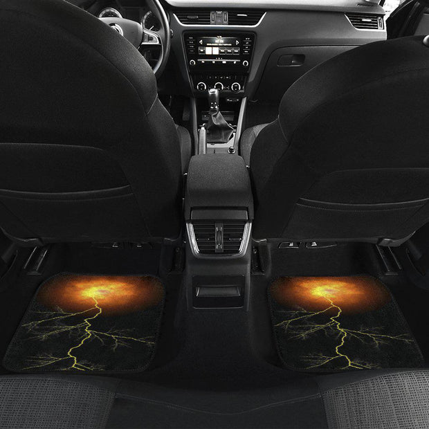 Fireball Lightening Floor Mats Full Set of 4