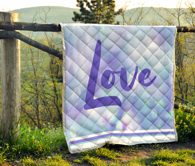 Love Quilt Purple