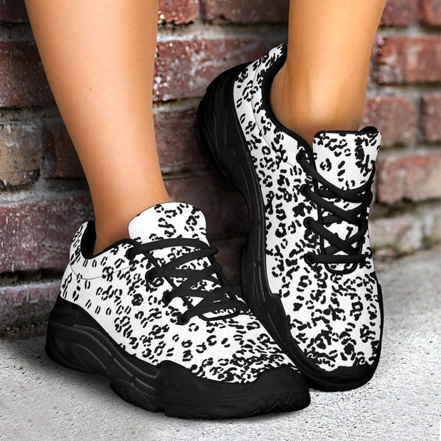 City leopard, chunky sneakers