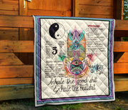 Yoga Exhale Quilt