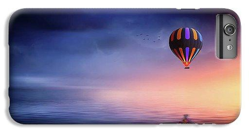 Hot Air Balloon Sunset - Phone Case