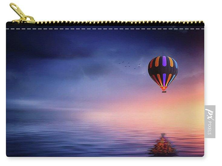 Hot Air Balloon Sunset - Carry-All Pouch