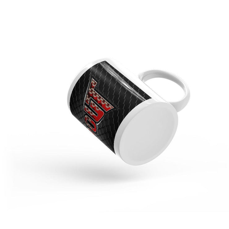 Tapout Red Chains Mug - Let's Print Big
