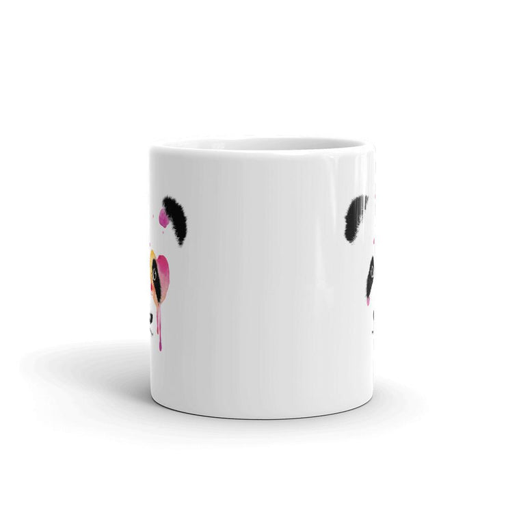 Panda Bear Heart Coffee Mug