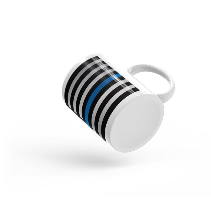 Thin Blue Line Coffee Mug - Let's Print Big