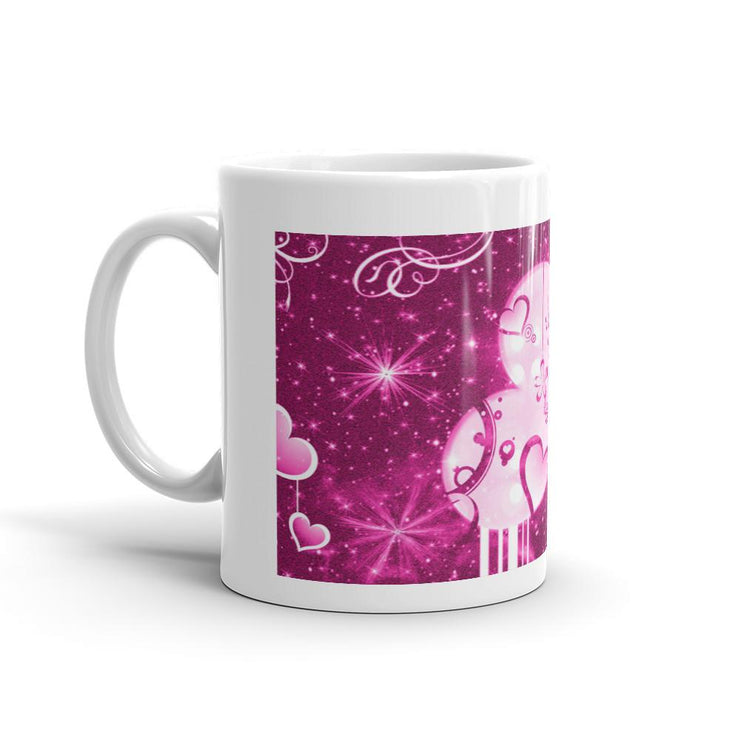 Pink Heart Mug - Let's Print Big