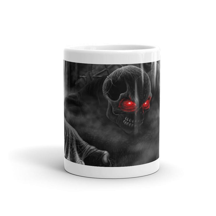 Zombie Glowing Eyes Mug - Let's Print Big
