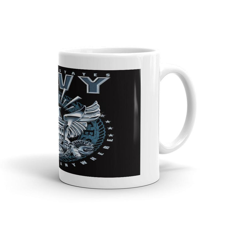 Navy Mug - Let's Print Big