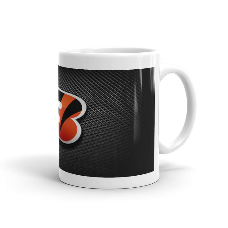 Cincinnati Bengals Custom Coffee Mug Black - Let's Print Big