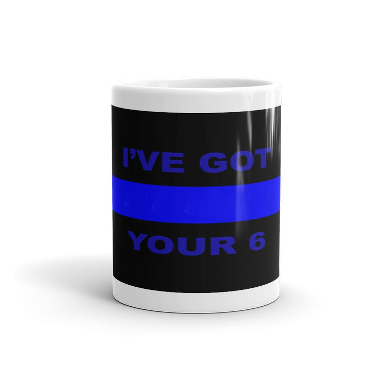 Thin Blue Line Mug - Let's Print Big