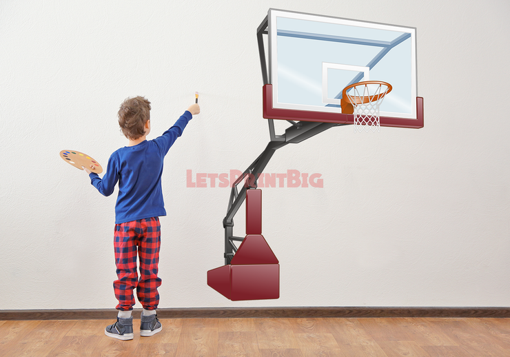 Childs Room basketball goal