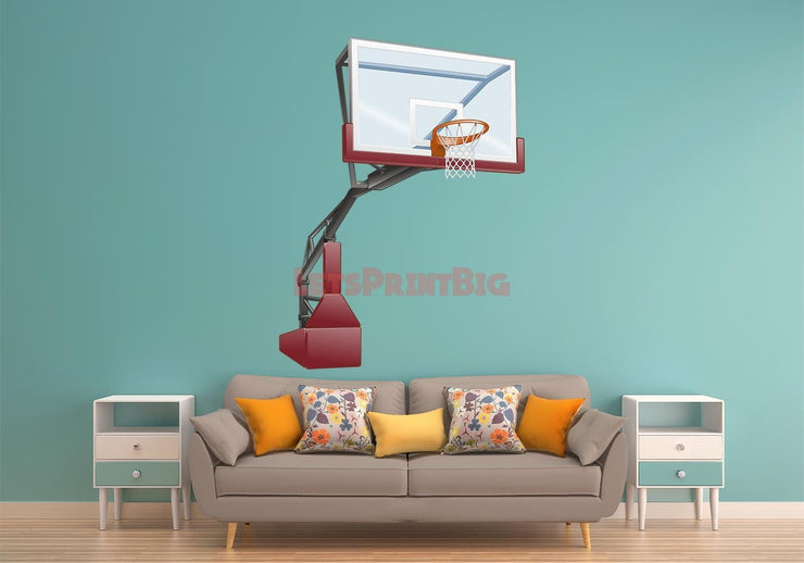 Man Cave basketball goal