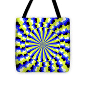 Optical Illusion Professor - Tote Bag