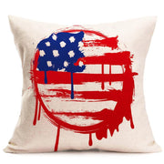 2017 New Vintage American Flag Pillow Cases decorative vintage - Let's Print Big