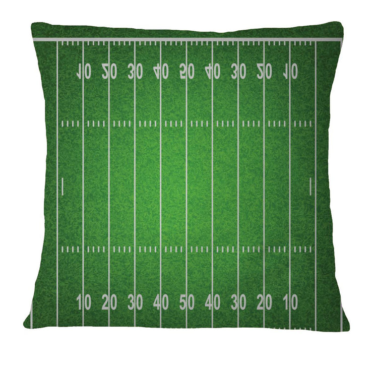 Pillow Case Cover - Football Field - Let's Print Big