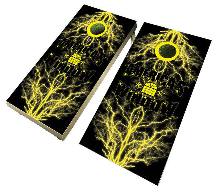 WE DESIGN WITH YOUR IDEAS Custom Cornhole Wraps with up to 3 revisions