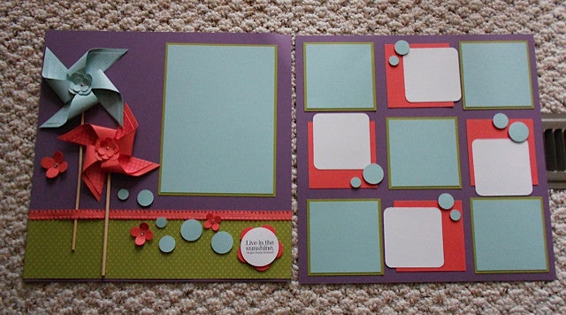 Choosing Your Scrapbook Layouts