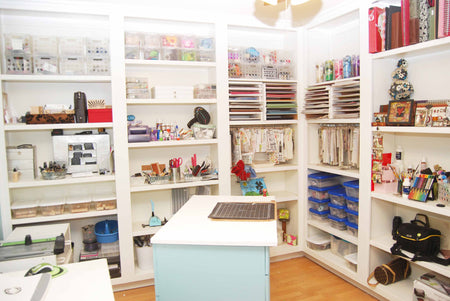 Scrapbook Storage: Organizing Your Studio and Books