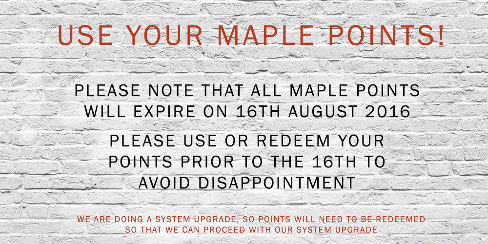 Maple Points