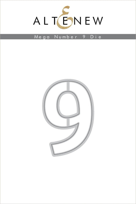 Altenew Die Mega Number 9