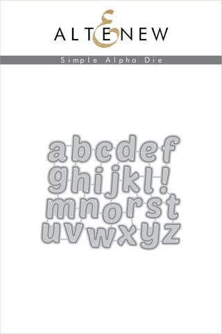 Altenew Die Simple Alpha