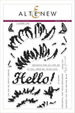 "Altenew 6"" x 8"" Clear Stamp Cross Stitch Flower Stamp Set"