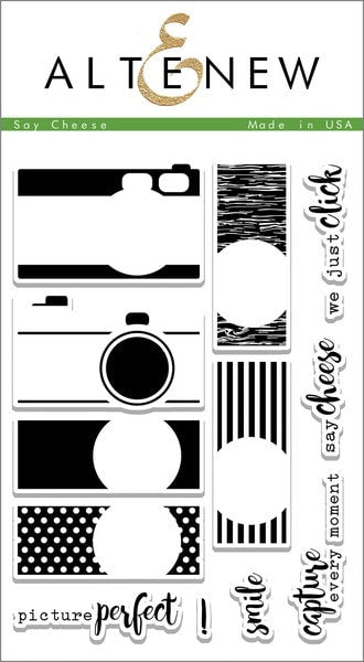 "Altenew Photopolymer Clear Stamp 4"" x 6"" Say Cheese 